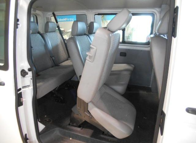VW Transporter 8 places full